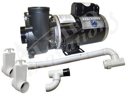 PUMP KIT: 4.0HP 230V 2-SPEED 60HZ TO RETROFIT CAL-SPA DUALLY