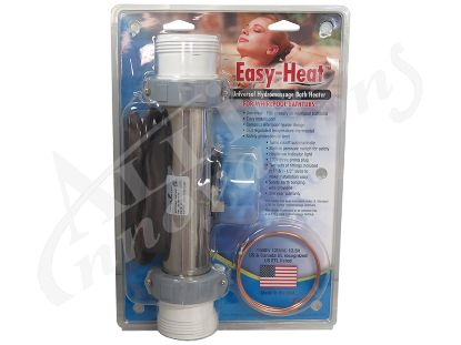 "BATH HEATER: 1.5KW 120V 7"" FLO-THRU ELEKTRA WITH 3' NEMA PLUG 20-16000-10"