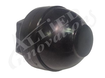 "AIR BUTTON BELLOW: SMALL 1 3/32""  BLACK B465BA"