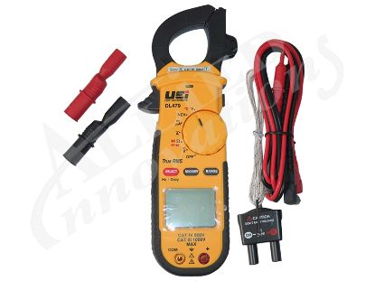 CLAMP ON METER: AC 600A TRMS HVAC / R DL479
