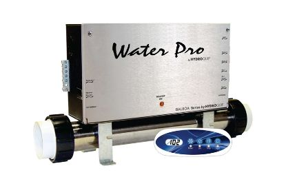 CONTROL: CS6000B WATER PRO BALBOA DUPLEX AND INSTALLATION KIT WITH SMALL OVAL TOPSIDE VS-501Z CS6200B-U-WP