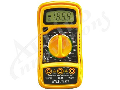 DIGITAL MULTIMETER WITH TEMPERATURE UTL33T