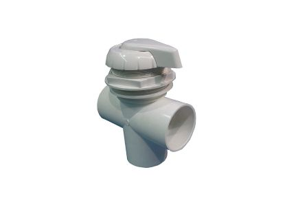 "DIVERTER VALVE: 3-WAY FLOW 2"" SLIP X 2"" SLIP X 2"" SLIP GRAY 11-4000GRY"