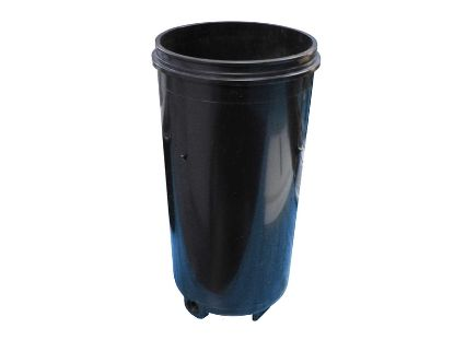 "FILTER CANISTER: 12-1/2"" BODY ONLY - BLACK"