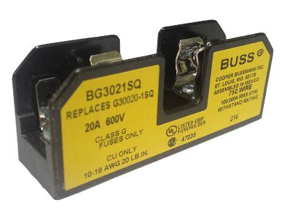 FUSE HOLDER: 300V 20AMP G BG-3021SQ