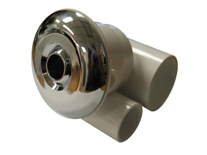 "JET ASSEMBLY: STANDARD JET 1"" X 1/2"" CHROME SJ1X5-6"