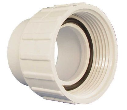 "PUMP UNION: 1-1/2"" WITH TAILPIECE / O-RING 2098-1W"