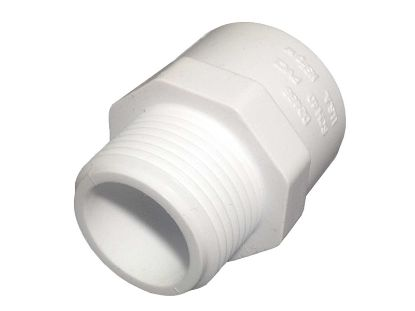 "PVC ADAPTER: MALE 3/4"" MPT X 3/4"" SLIP 436007"