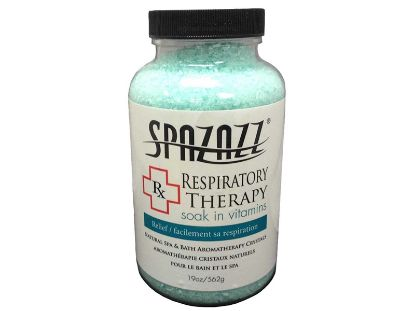 SPA/BATH CRYSTAL: RX RESPIRATORY THERAPY 19OZ 603