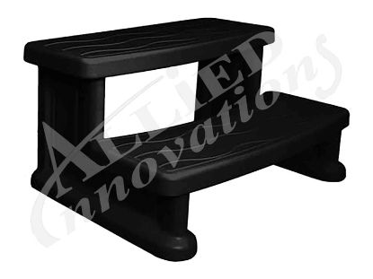 STEP ASSEMBLY:  SPA SIDE STEP BLACK SSBLACK