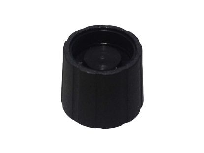 THERMOSTAT KNOB: BLACK WITHOUT DIAL INSERT 15-0007